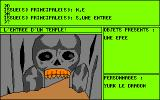 Orphée: Voyage aux Enfers Amstrad CPC Enter the skull and reborn...