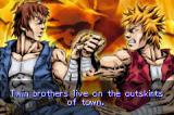 Double Dragon Game Boy Advance Lee brothers