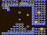 Boulder Dash NES diamonds and skulls falling from overhead