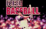 R.B.I. Baseball 2 Atari ST Title screen.