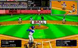 R.B.I. Baseball 2 Atari ST It's a ball throw.