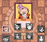 Magical Drop III Game Boy Color Select your character