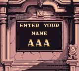 Magical Drop III Game Boy Color Enter your initials for high score.