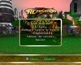 RC Revenge PlayStation Menu