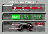 The Duel: Test Drive II Genesis Selecting game options