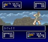 FEDA: The Emblem of Justice SNES The main character got hurt.