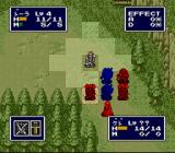 FEDA: The Emblem of Justice SNES The crossbow user can shoot from a distance.