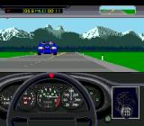The Duel: Test Drive II Genesis Nice mountains ahead. All quiet