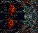 Axelay SNES The last boss (first phase)