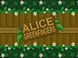 Alice Greenfingers Windows Secondary Title screen