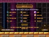 Bricks of Egypt 2: Tears of the Pharaohs Windows One of the help screens