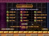 Bricks of Egypt 2: Tears of the Pharaohs Windows Second help screen with the modifiers