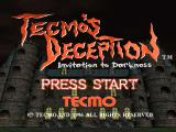 Tecmo's Deception PlayStation Main title