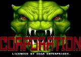 Corporation Genesis Title screen (as Corporation)