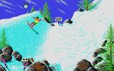 California Games II Atari ST Warning cliff ahead.