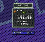 Sterling Sharpe: End 2 End SNES Options