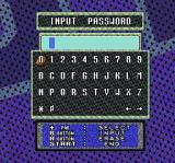 Sterling Sharpe: End 2 End SNES Password screen