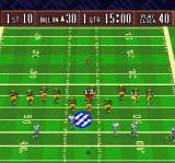 Sterling Sharpe: End 2 End SNES The football flying in the air