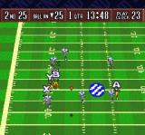 Sterling Sharpe: End 2 End SNES The ball being tossed to receivers