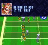 Sterling Sharpe: End 2 End SNES Results of a play