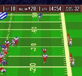 Sterling Sharpe: End 2 End SNES Running with the ball