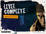 inFAMOUS: Precinct Assault Browser First level completed