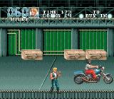 Double Dragon III: The Sacred Stones Genesis Beware of those motocycles