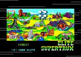 Super Trux Amstrad CPC Loading screen