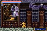 Castlevania: Circle of the Moon Game Boy Advance Fighting Death