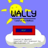 Wally: Land of the Wallows Windows Main menu