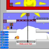 Wally: Land of the Wallows Windows Playing a custom level using the Colorific skin.