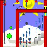 Wally: Land of the Wallows Windows Playing a custom level using the Soupnazi skin.
