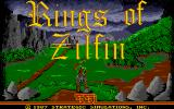 Rings of Zilfin Atari ST Title Screen