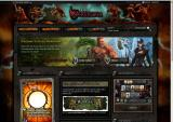 Duels: Warstorm Browser Game start page.