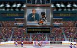 Wayne Gretzky Hockey 3 DOS Arbiters voiced dialogue sequence