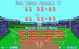 Earl Weaver Baseball II DOS Title Screen and Main Menu (MCGA)