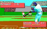 Earl Weaver Baseball II DOS Waiting for the ball (EGA)