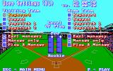 Earl Weaver Baseball II DOS User Settings (EGA)