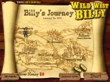 Wild West Billy Windows The game map for Career.
