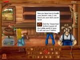 "Wild West Billy Windows The button with the crossed pistols is the ""Guess Now"" button. It costs two bullets but you can then type in all the letters of the puzzle."