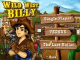 "Wild West Billy Windows This is the menu if you click ""Play now""."