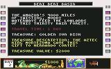 Disney's Duck Tales: The Quest for Gold Commodore 64 Location and Treasure description