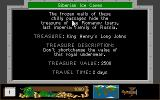 Disney's Duck Tales: The Quest for Gold Atari ST Location and Treasure details