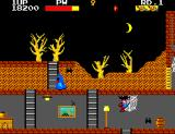 "Ghost House SEGA Master System ""I'm trapped in a spider's web, but where is the spider?"""