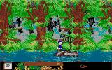 Disney's Duck Tales: The Quest for Gold Atari ST In the jungle