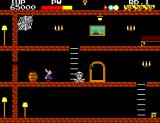 Ghost House SEGA Master System The vampire's skeleton