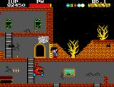 Ghost House SEGA Master System Collected all five jewels. Now to the exit