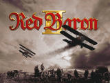 Red Baron II Windows Title screen.
