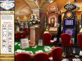 Dream Day Wedding: Viva Las Vegas Windows Finding cards in the casino.