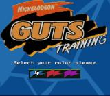 Nickelodeon GUTS SNES Pick a color
